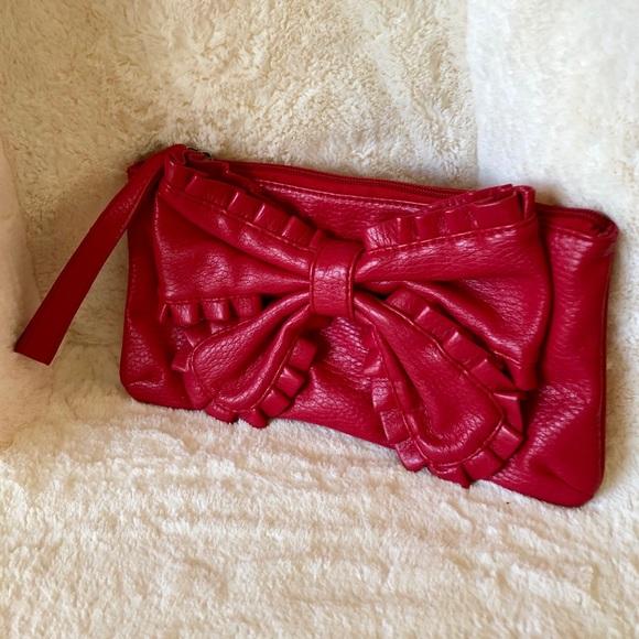 5ea06303fb Marc Ecko Bags | Nwot Red By Mark Ecko Clutch Purse | Poshmark